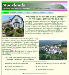 Moorlands B&B